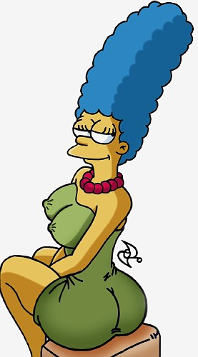 Toon Party with Marge Simpson