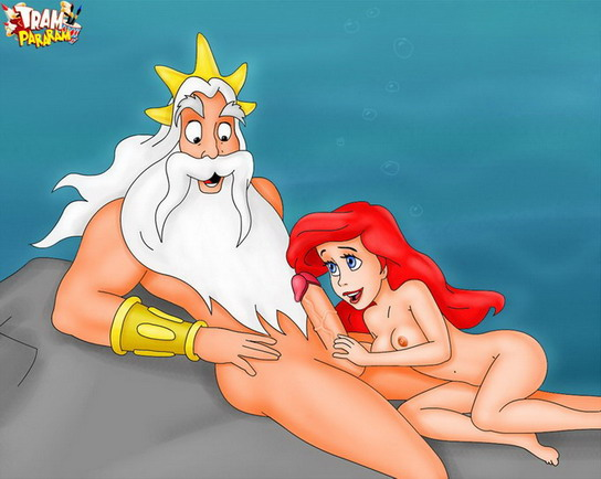 Hot xxx toons - ocean sex party!