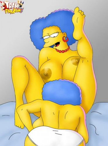 Marge, Patty and Selma : XXX Toons Sisters
